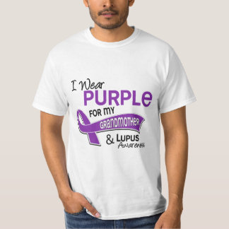 I Wear Purple For My Grandmother 42 Lupus Shirt
