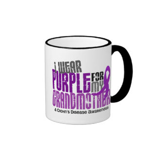 I Wear Purple For My Grandmother 6 Crohn's Disease Mug