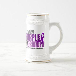 I Wear Purple For My Grandpa 6 Crohn's Disease Mug