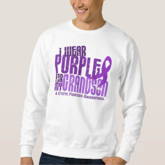 I Wear Purple For My Grandson 6.4 Cystic Fibrosis Sweatshirt