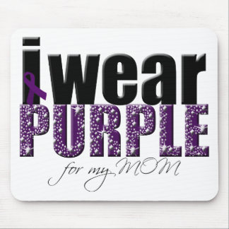 I Wear Purple For My Mom Mouse Pad