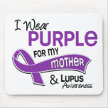 I Wear Purple For My Mother 42 Lupus Mousepads