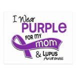 I Wear Purple For My Mum 42 Lupus Postcards