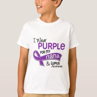 I Wear Purple For My Nana 42 Lupus T-shirt