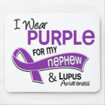 I Wear Purple For My Nephew 42 Lupus Mouse Mats