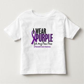 I Wear Purple For My Paw Paw 10 Pancreatic Cancer Tee Shirts