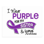 I Wear Purple For My Sister 42 Lupus