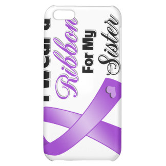 I Wear Purple For My Sister iPhone 5C Case