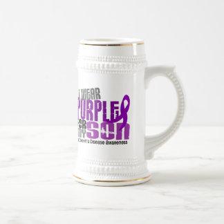 I Wear Purple For My Son 6 Crohn's Disease Mugs