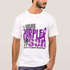 I Wear Purple For My Son 6 Crohn's Disease T-Shirt