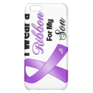 I Wear Purple For My Son Case For iPhone 5C