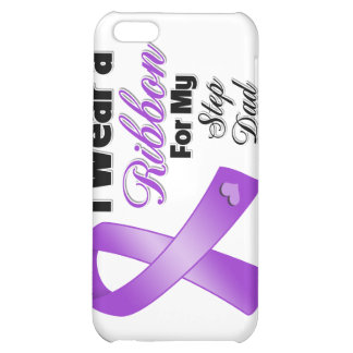 I Wear Purple For My Step-Dad iPhone 5C Cases