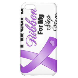 I Wear Purple For My Step-Mom Cover For iPhone 5C