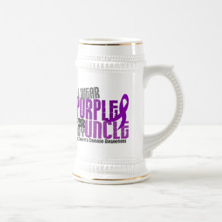 I Wear Purple For My Uncle 6 Crohn's Disease Mugs