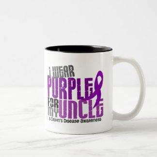 I Wear Purple For My Uncle 6 Crohn's Disease Mugs