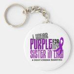 I Wear Purple For Sister-In-Law 6 Crohn's Disease