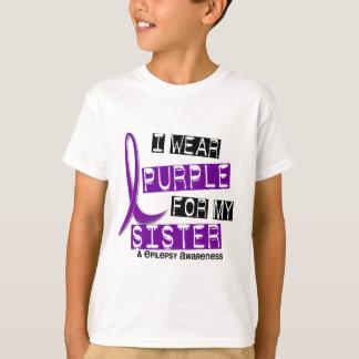 I Wear Purple Sister Epilepsy T Shirt