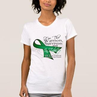I Wear Ribbon Tribute - Liver Cancer T Shirt
