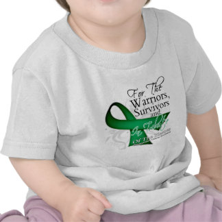 I Wear Ribbon Tribute - Liver Cancer Tee Shirt