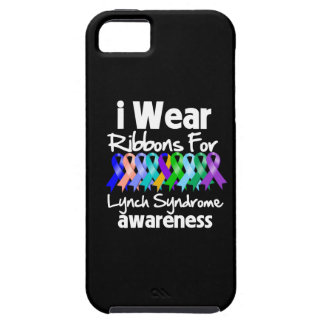 I Wear Ribbons For Lynch Syndrome Awareness iPhone 5 Cases