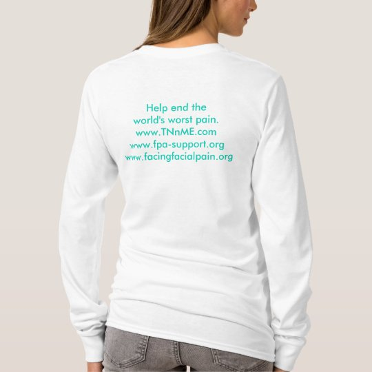 I wear teal for a loved one. T-Shirt