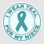 I Wear Teal For My Niece