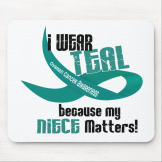 I Wear Teal For My Niece 33 OVARIAN CANCER Tees Mouse Pad