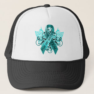 I Wear Teal for my Sister.png Trucker Hat