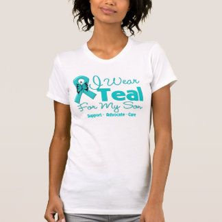 I Wear Teal For My Son T Shirts