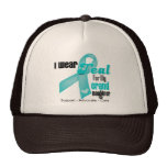 I Wear Teal Ribbon For My Granddaughter