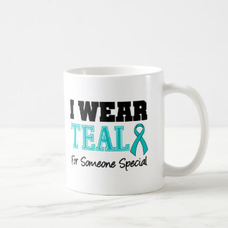 I Wear Teal Ribbon For Someone Special Mug