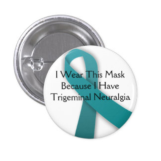 I Wear This Mask Because I Have TN 3 Cm Round Badge