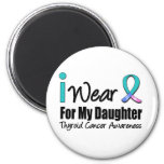 I Wear Thyroid Cancer Ribbon For My Daughter