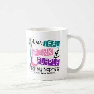 I Wear Thyroid Cancer Ribbon For My Nephew 37 Mug