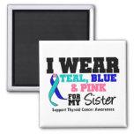 I Wear Thyroid Cancer Ribbon For My Sister