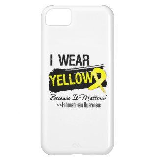 I Wear Yellow Because It Matters Endometriosis Cover For iPhone 5C