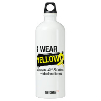 I Wear Yellow Because It Matters Endometriosis SIGG Traveller 1.0L Water Bottle