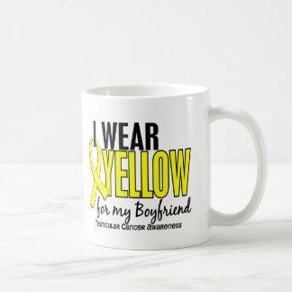 I Wear Yellow Boyfriend 10 Testicular Cancer Coffee Mug
