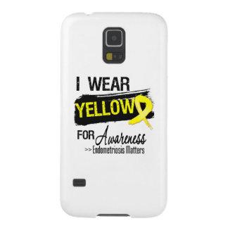 I Wear Yellow Endometriosis Awareness Matters Galaxy S5 Covers