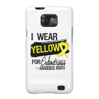 I Wear Yellow For Endometriosis Awareness Month Samsung Galaxy S2 Case
