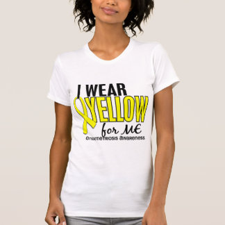 I Wear Yellow For Me 10 Endometriosis T-Shirt