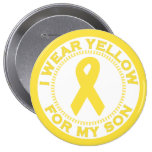 I Wear Yellow For My Son Badge