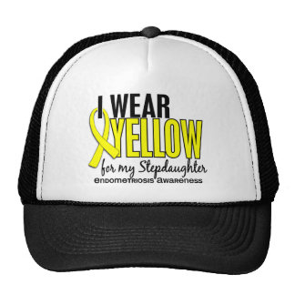 I Wear Yellow For My Stepdaughter 10 Endometriosis Cap