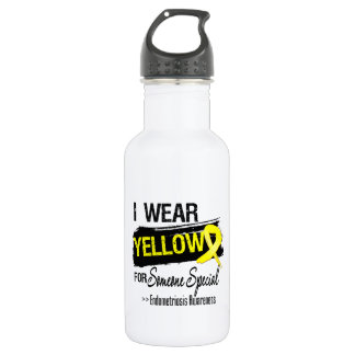 I Wear Yellow For Someone Special Endometriosis 532 Ml Water Bottle