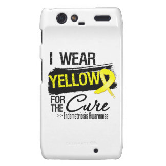 I Wear Yellow For The Cure Endometriosis Droid RAZR Case