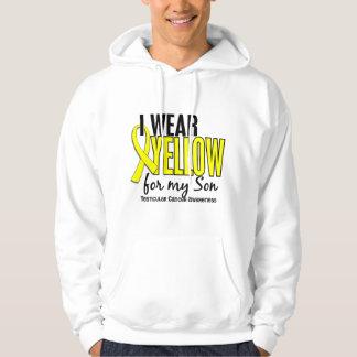 I Wear Yellow Son 10 Testicular Cancer Hoodie