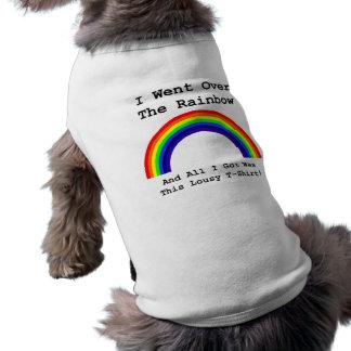 I Went Over The Rainbow Sleeveless Dog Shirt