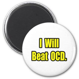 I Will Beat OCD Magnet