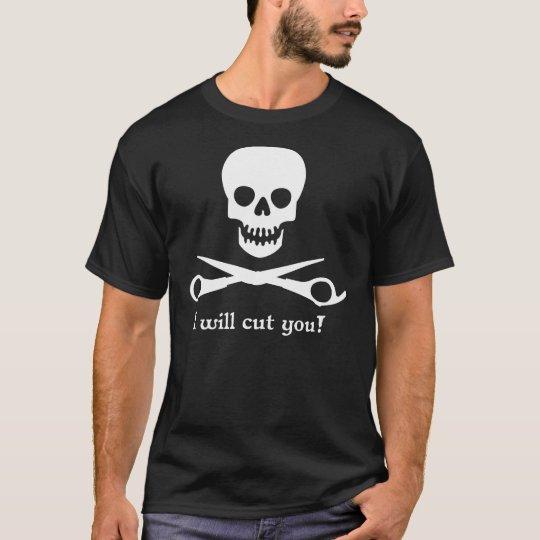 I will cut you_2011_WHT1 T-Shirt