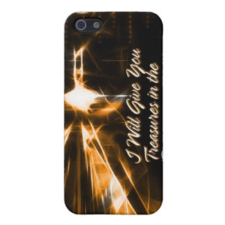 I Will Give You Treasures in the Darkness iPad Cas iPhone 5 Cover